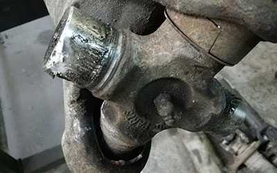 Замена крестовины кардана