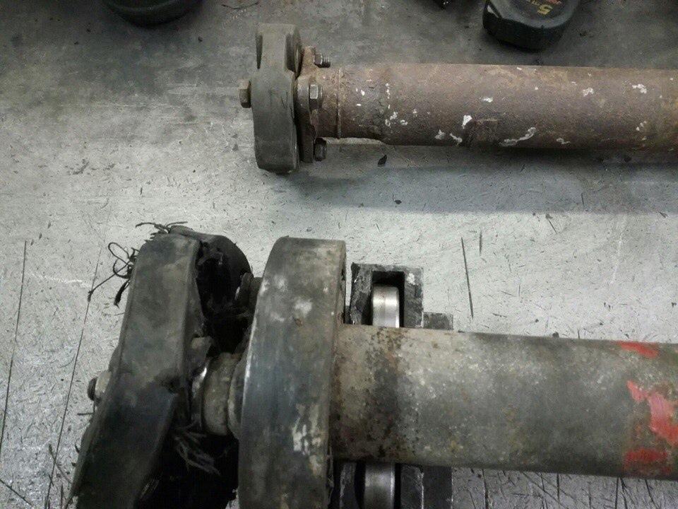 Ремонт карданного вала Mercedes 124