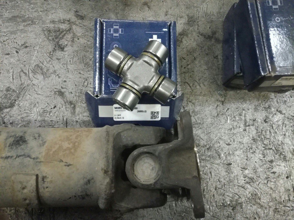 Ремонт карданного вала Lexus