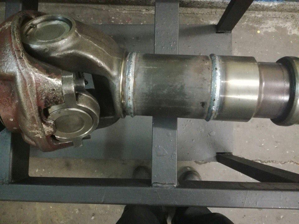 Изготовление межосевого кардана Scania