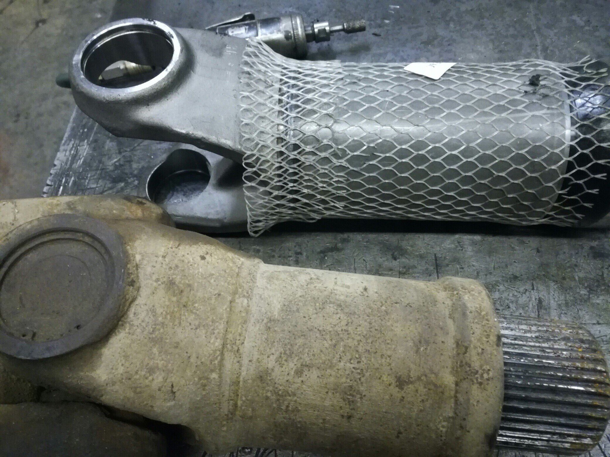 Восстановление карданного вала MAN