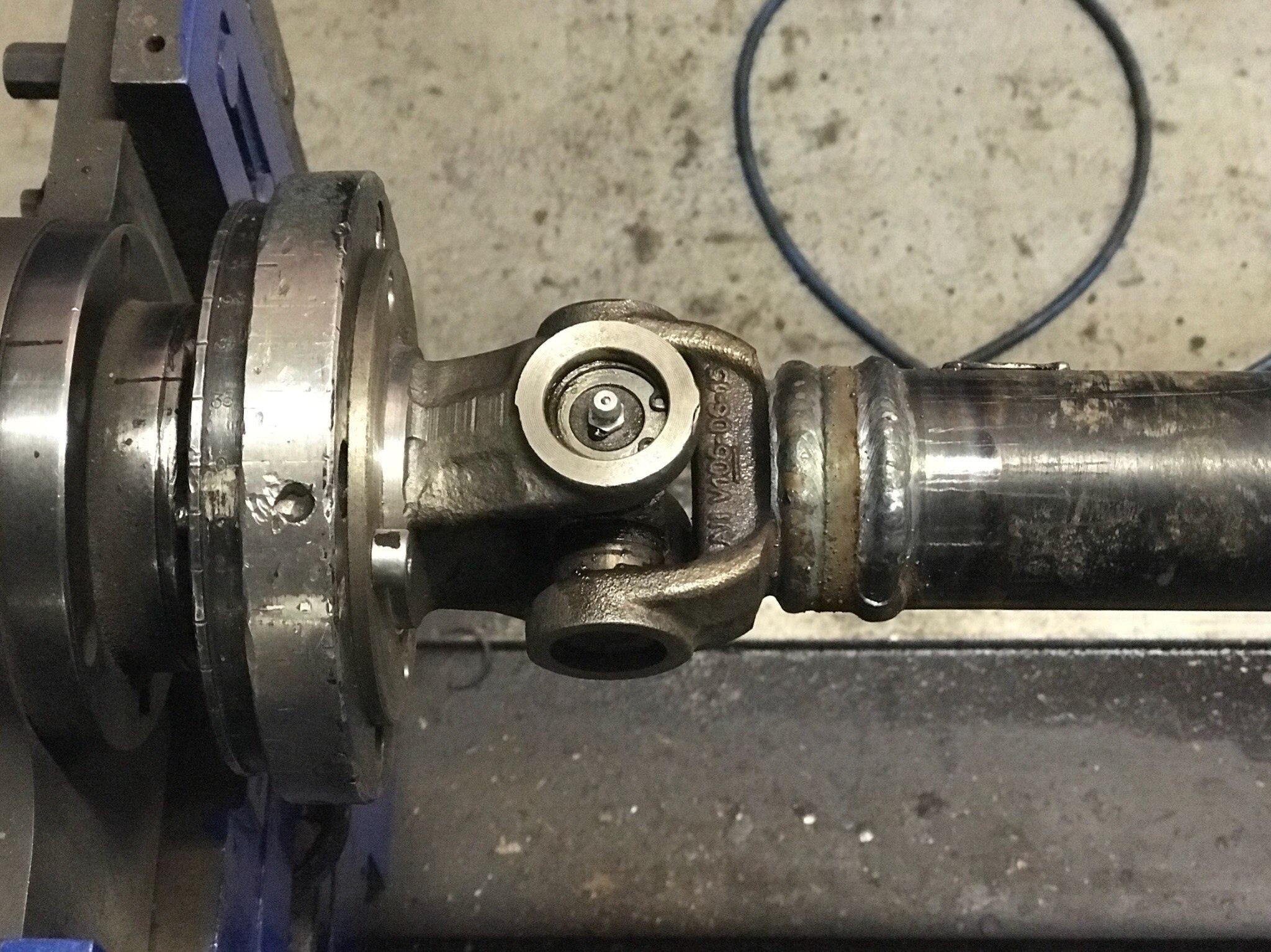 Ремонт карданного вала Renault Koleos