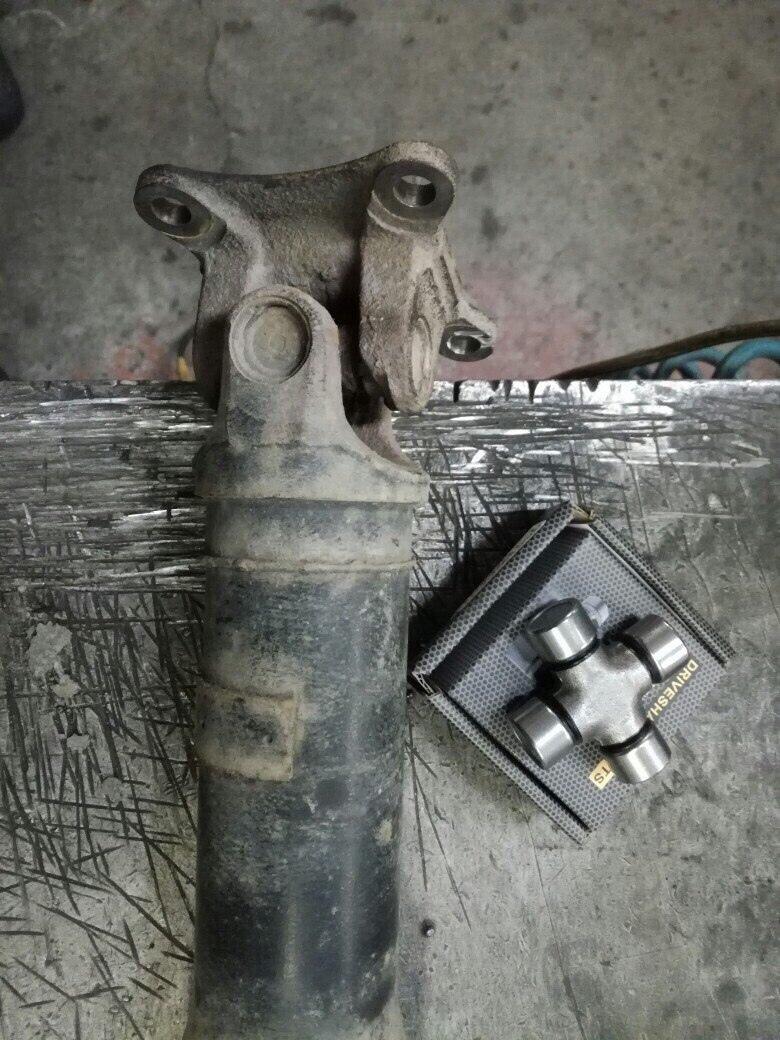 Замена крестовин кардана Renault Duster