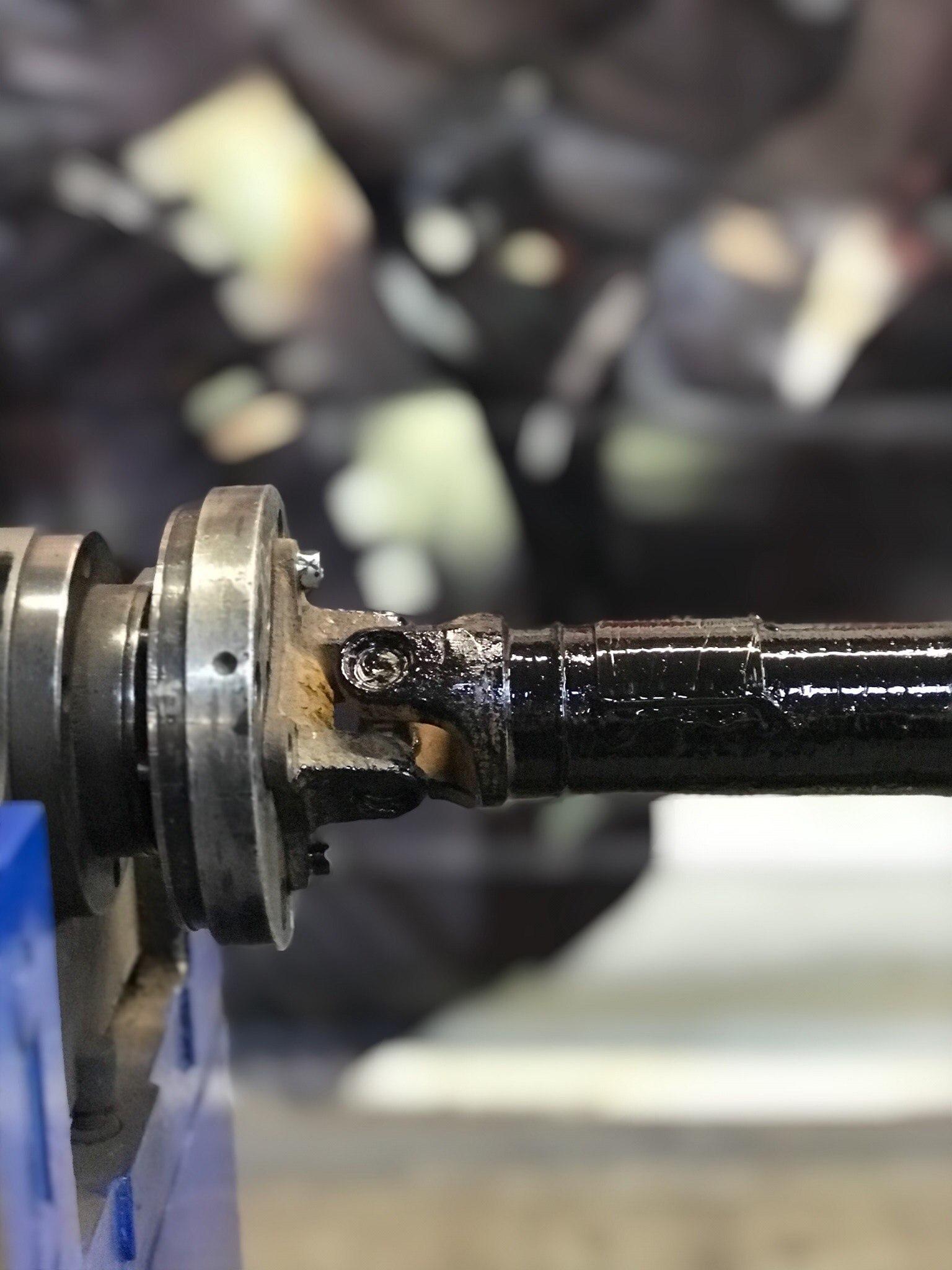 Замена крестовин Renault Duster кернением