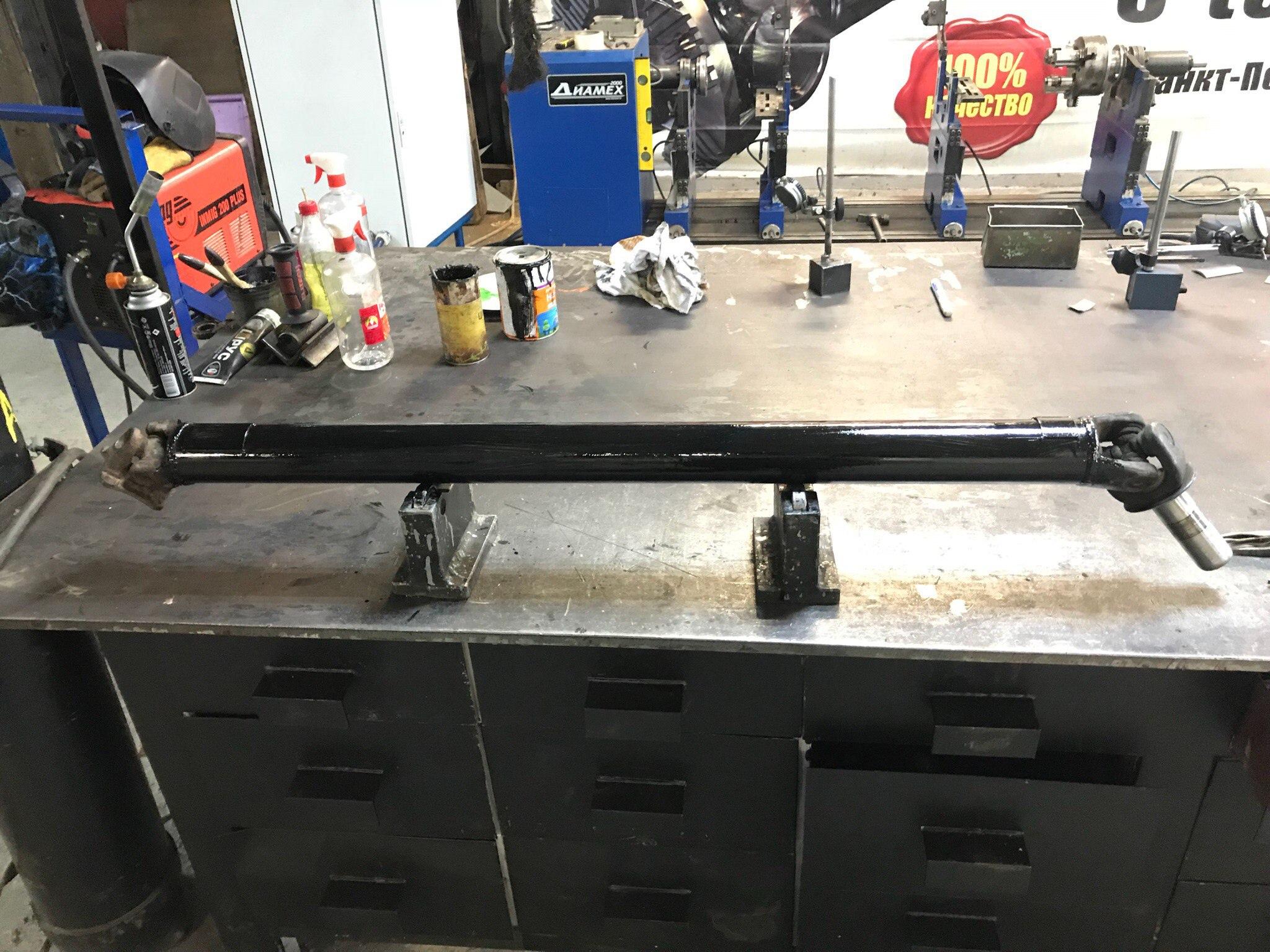 Изготовление кардана Nissan 200SX